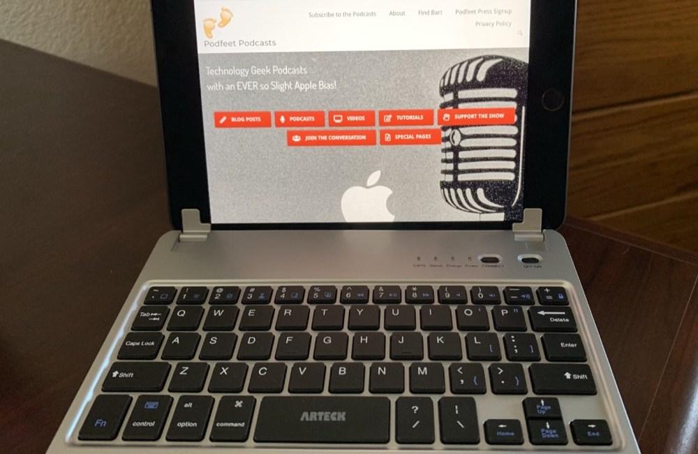 Arteck keyboard with iPad mini 5
