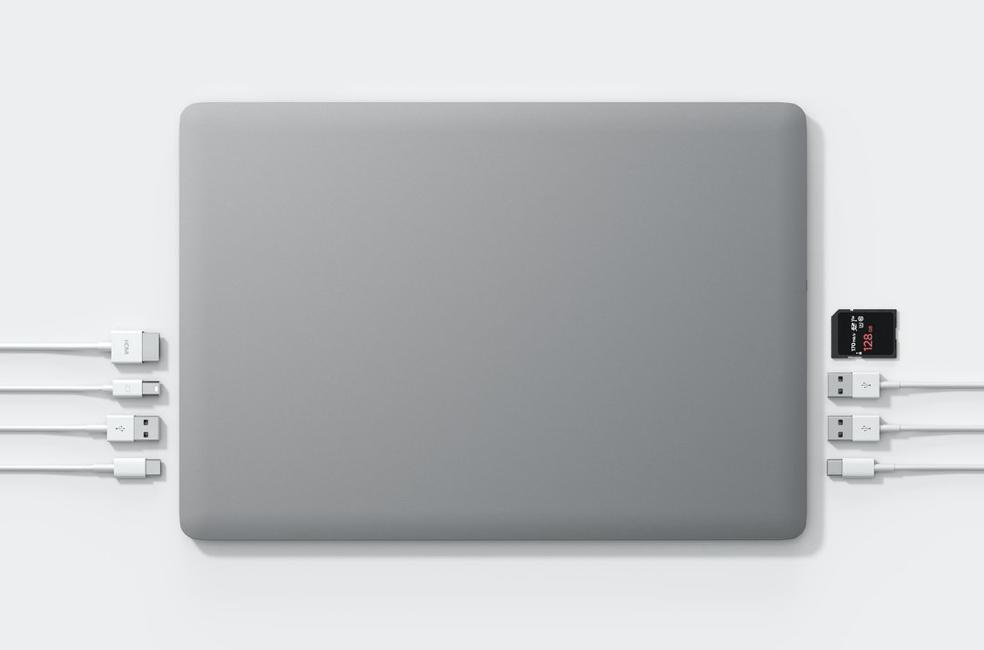 Top View of Linedock Dock for MacBook Pro