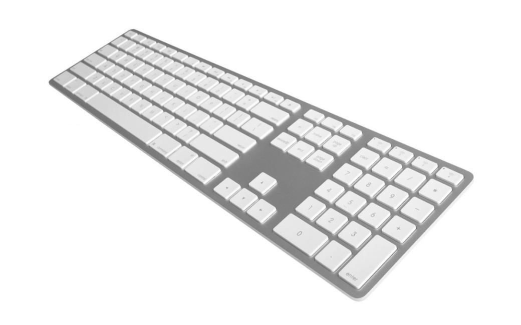 Matias Full-Size Wired Aluminum Keyboard