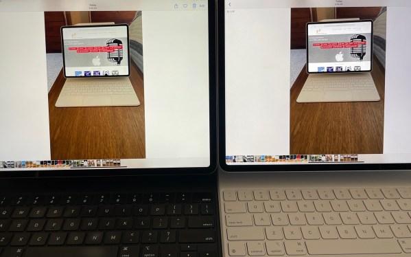 2018 vs 2021 iPad HDR Photo