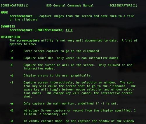 Terminal man screencapture