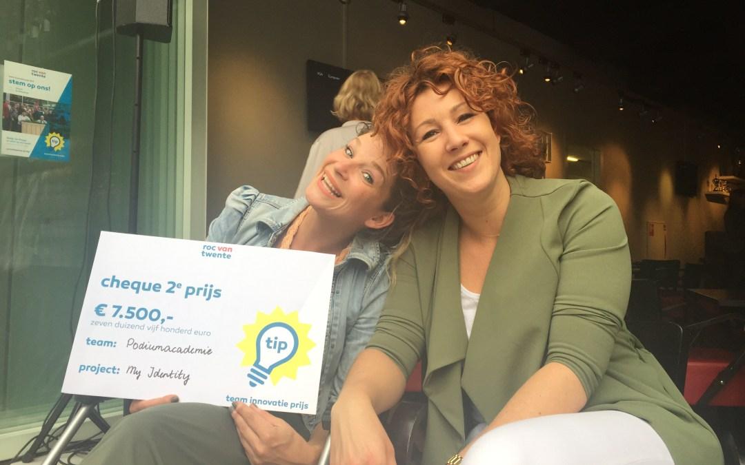 My Identity wint tweede prijs Team Innovatie Prijs