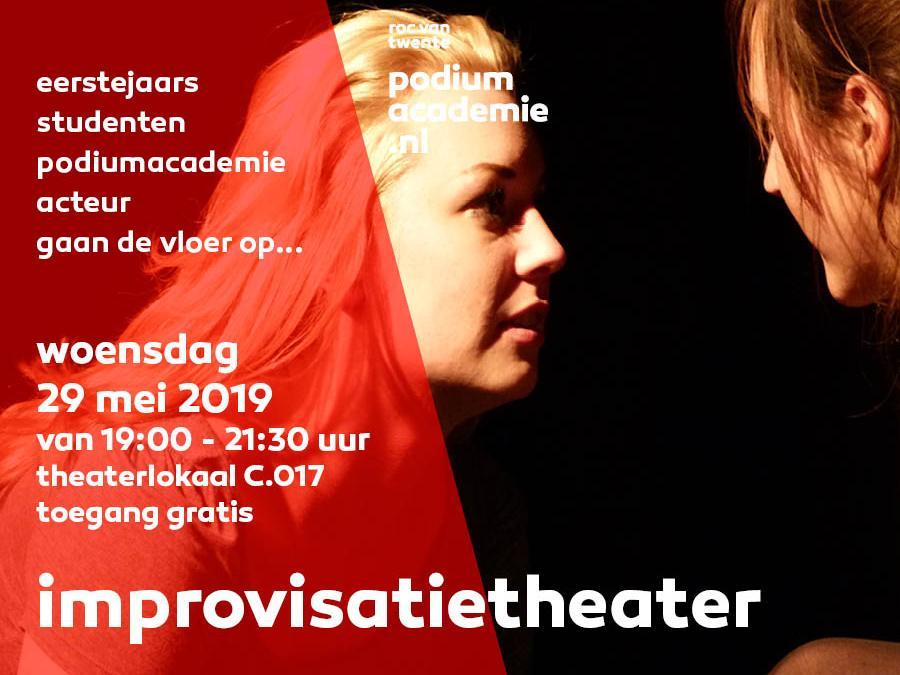 Improvisatie-theater