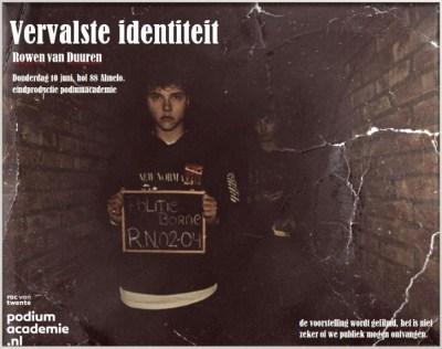 Vervalste identiteit -Rowen van Duuren