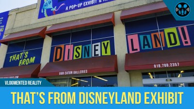 VLOG: THAT'S FROM DISNEYLAND! Exhibit/Auction