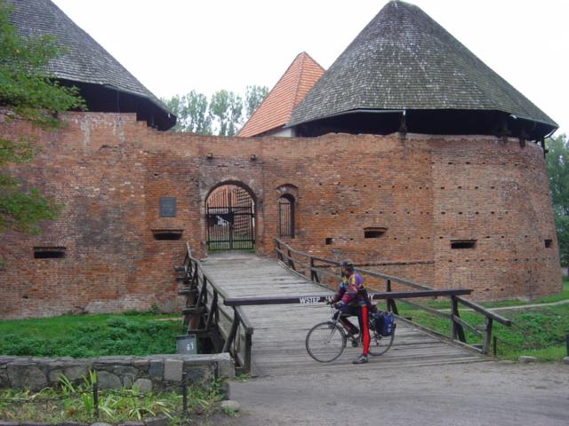 Pszczewski Park Krajobrazowy - zamek w Międzyrzeczu