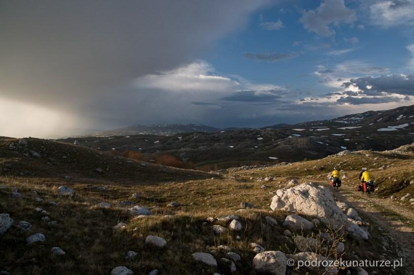 Dla takich widoków warto jeździć po górach...