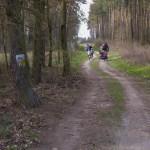 Wycieczka rowerowa przez poligon Biedrusko