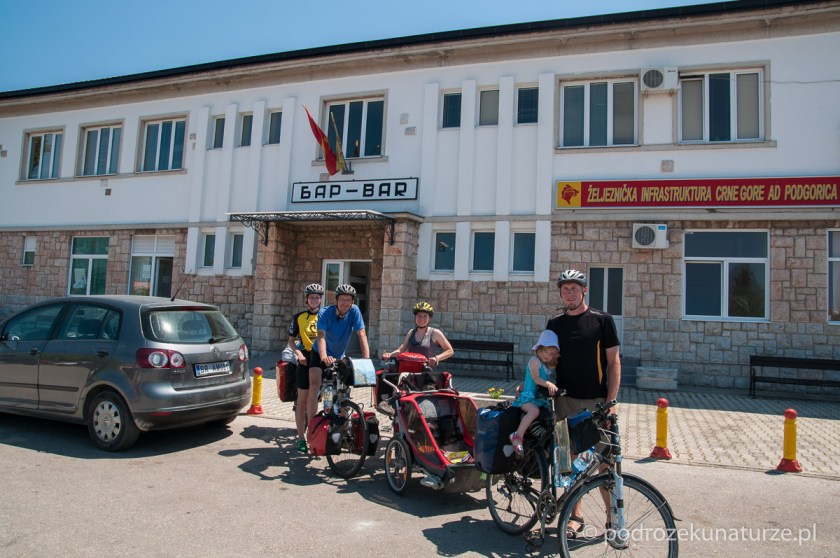 W Barze kończymy naszą rowerowwą część wyjazdu.