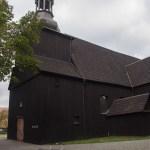 Zabytkowy drewniany kościół w Brodach