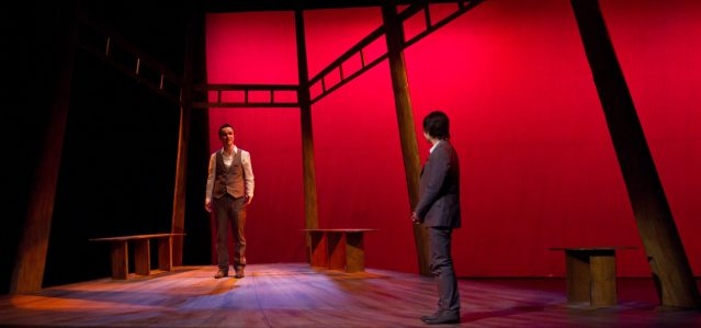 David Henry Hwang as a character with Marcus
