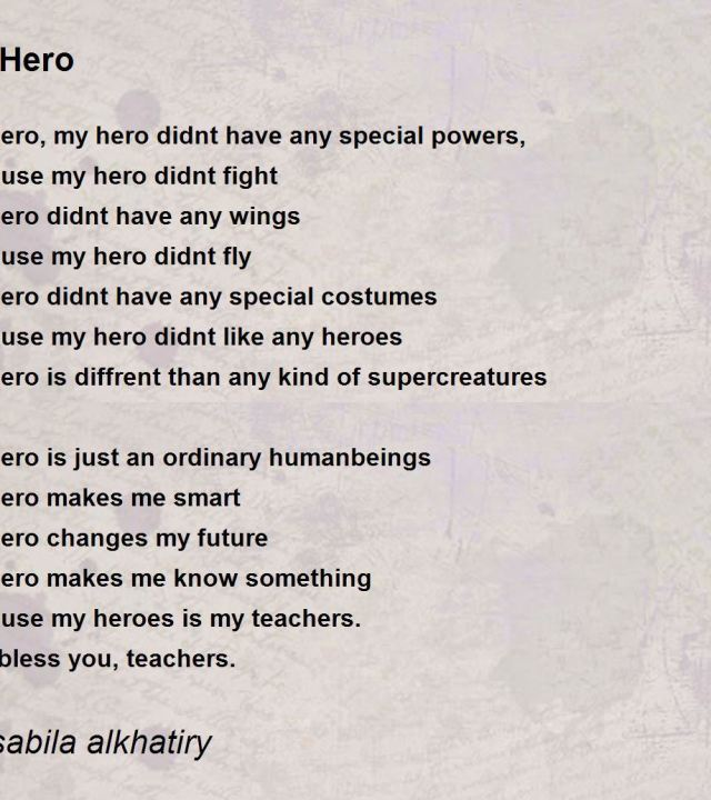 essay about my dad as a hero My dad is my hero: essays sent to us by our visitors who wanted to share their special heroes fathers come from all walks of life father heroes from all over the world.