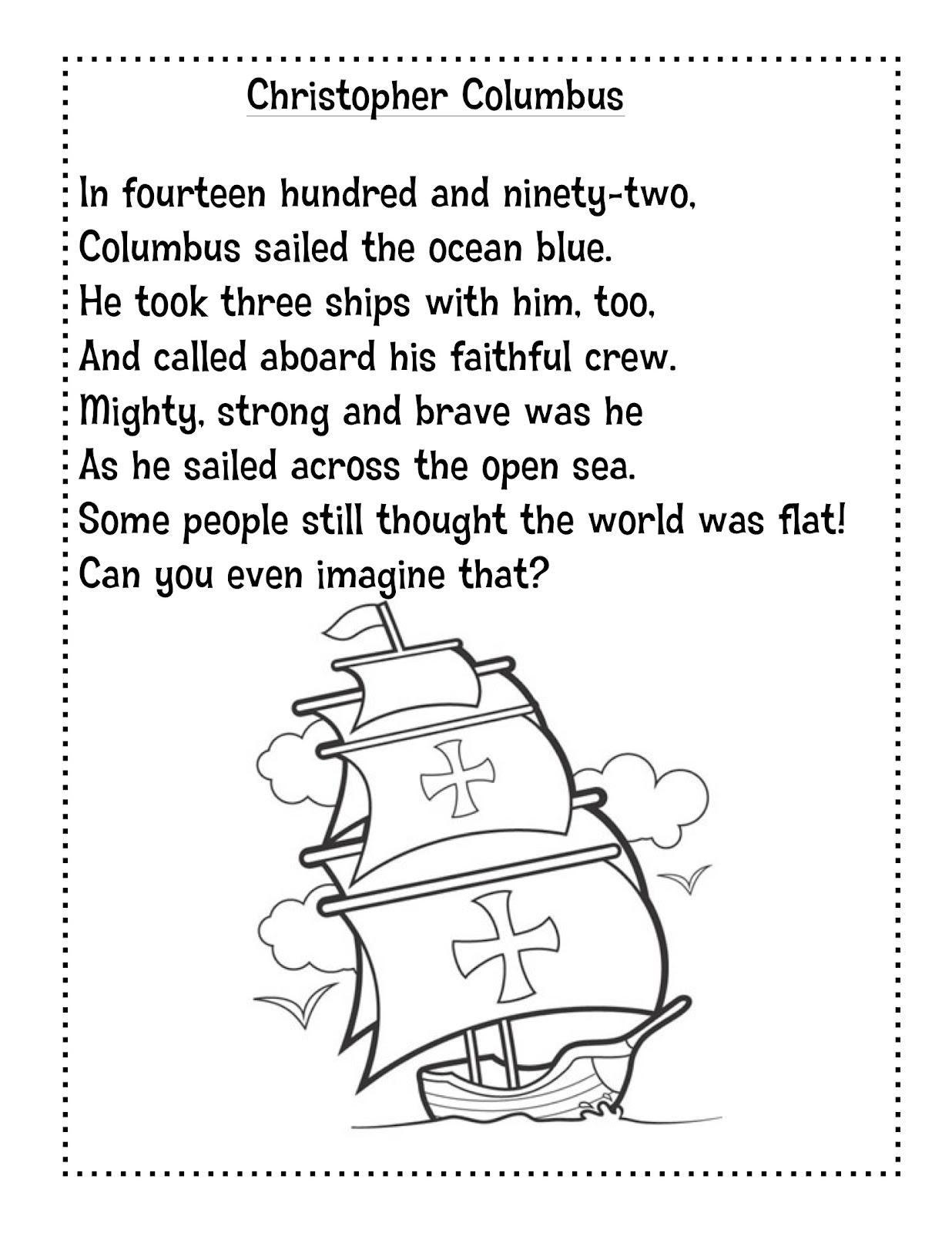 Columbus Poems