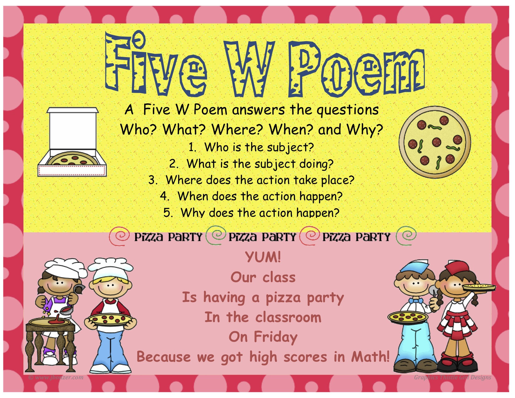 Fourth Grade Poems