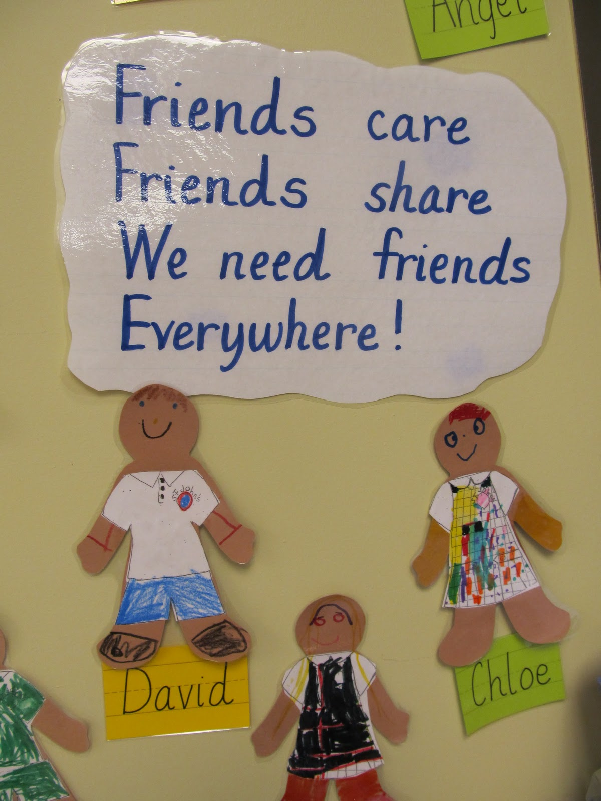 Preschool Friendship Poems
