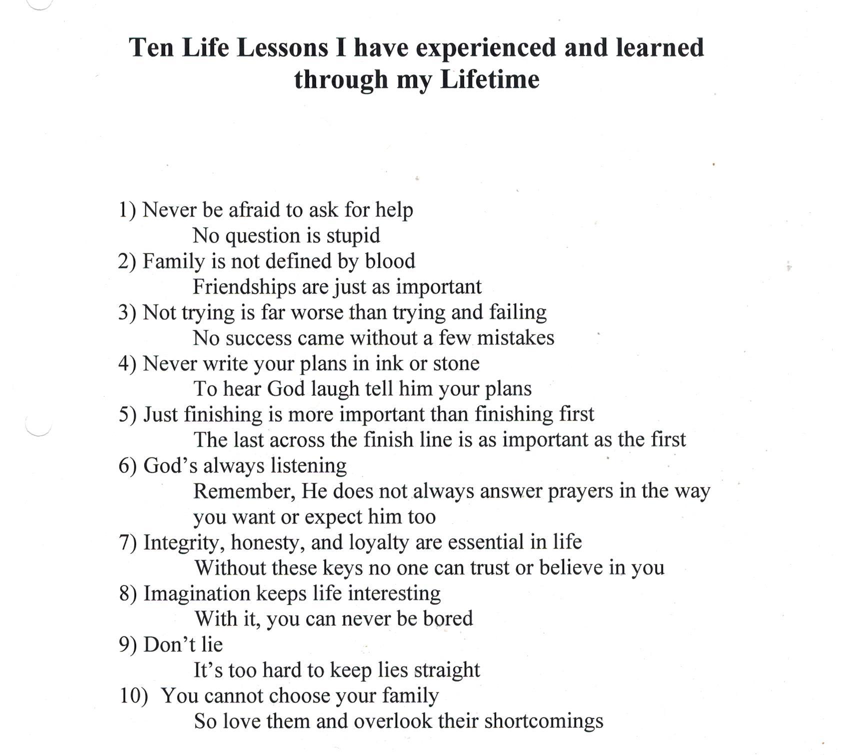 High School Graduation Poems