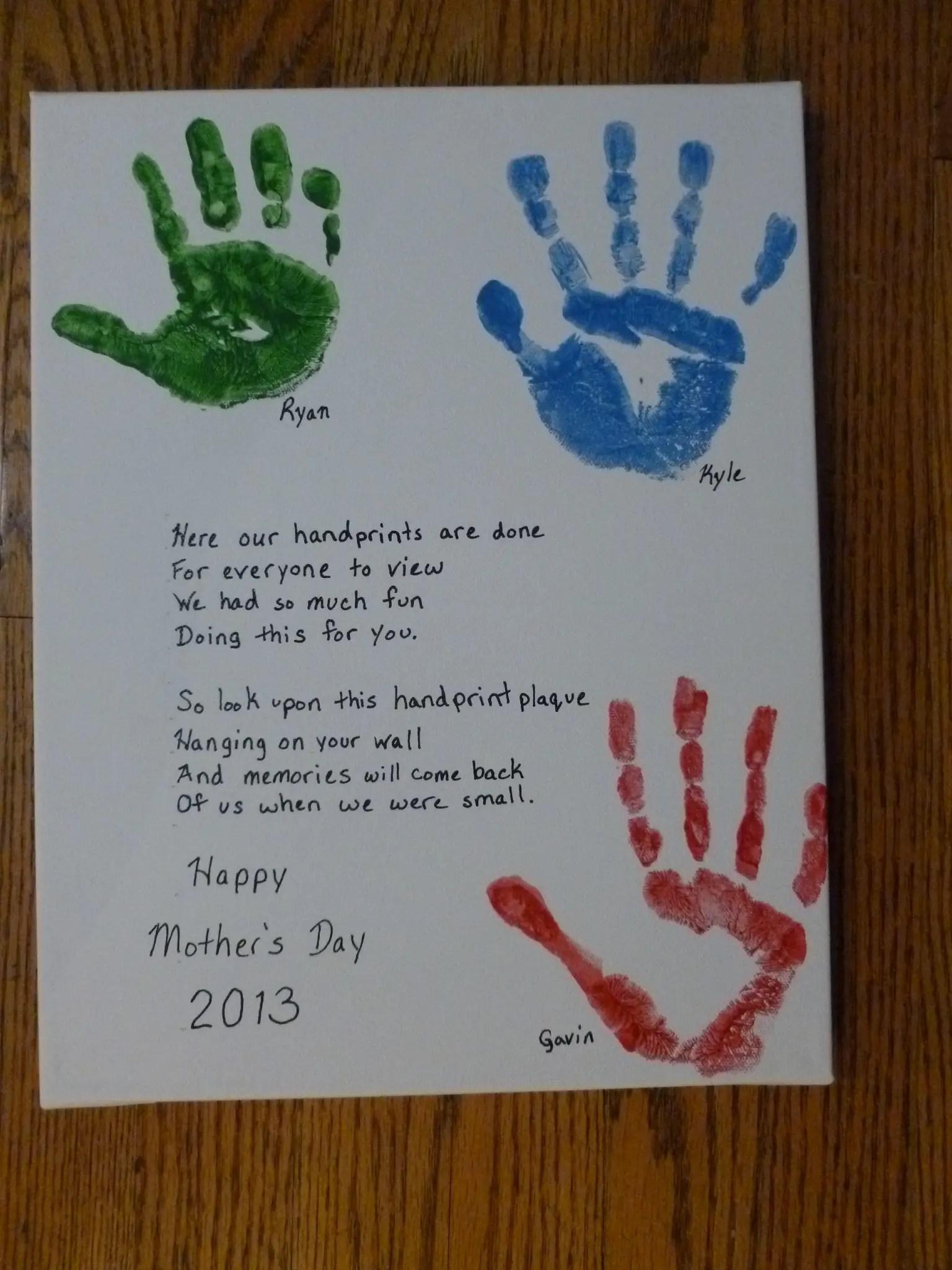 Handprint Poems