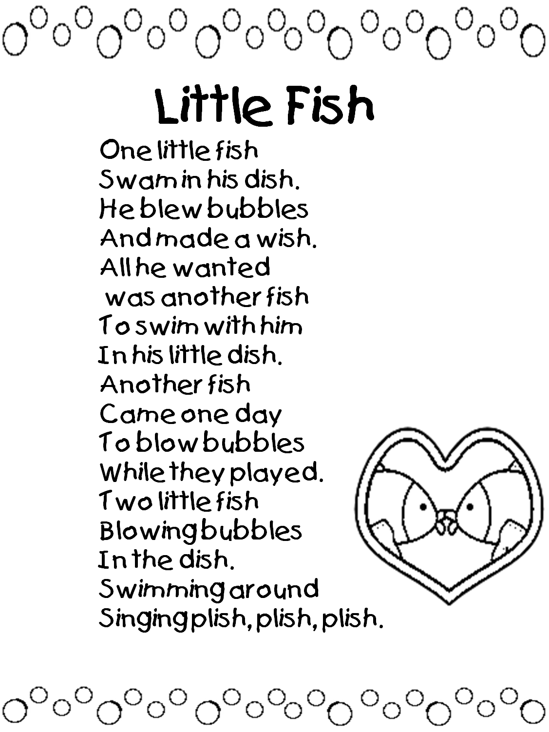 Kids Rhyming Poems