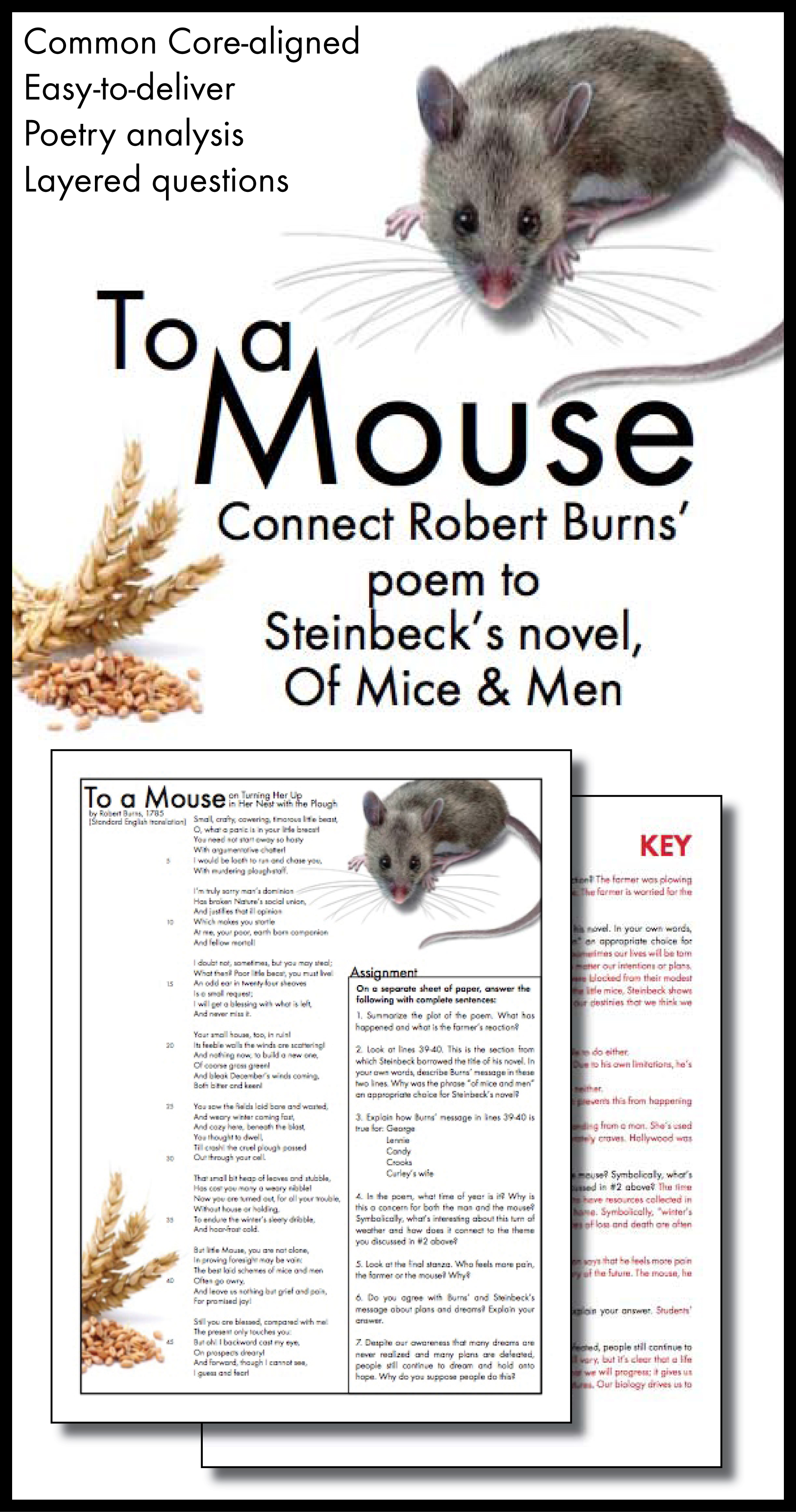 Mice Poems