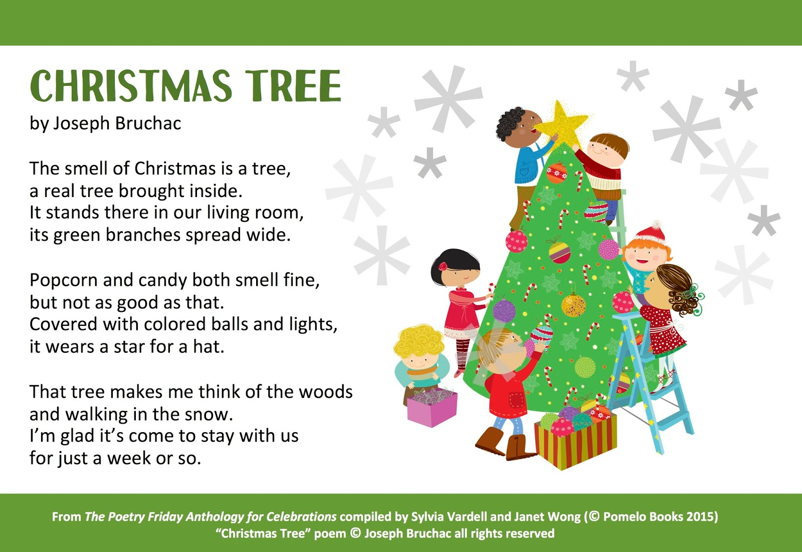 Christmas Tree Poems