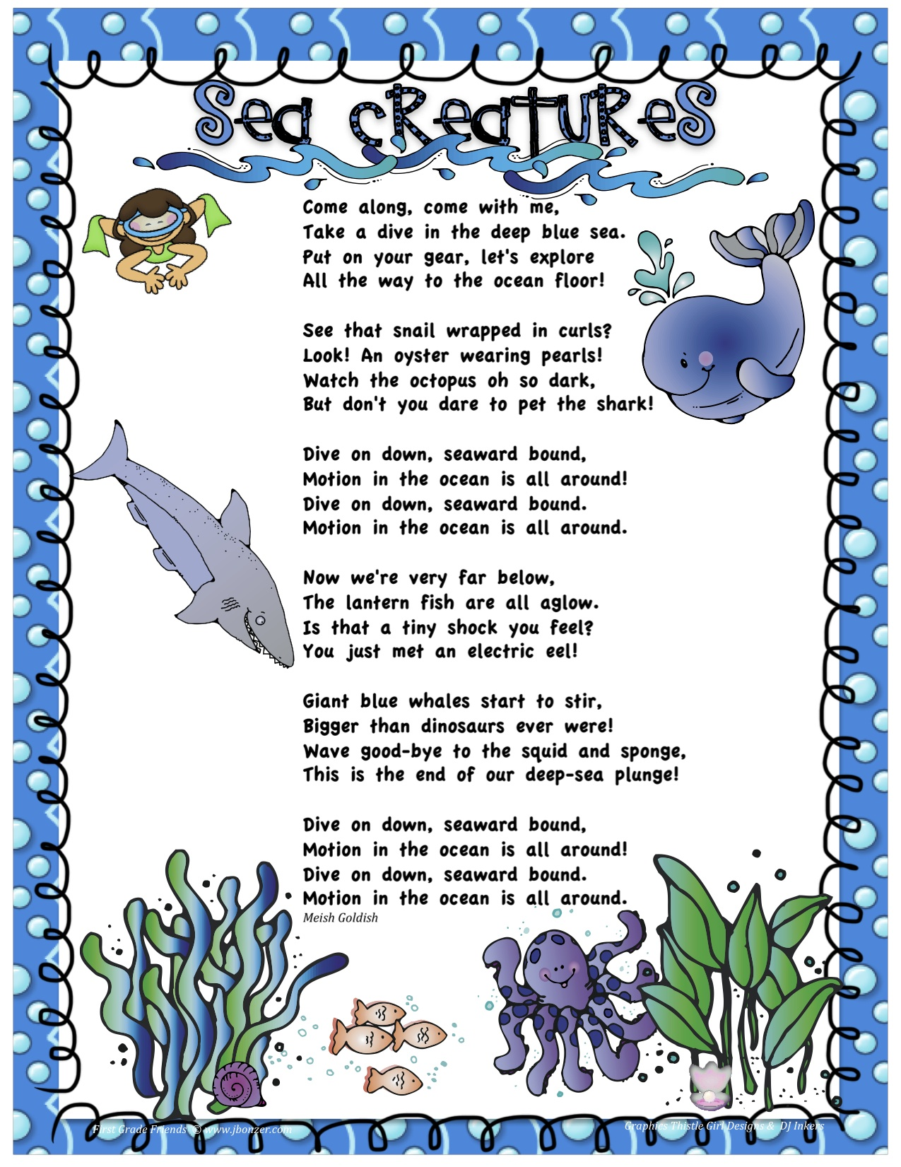 Seahorse Poems
