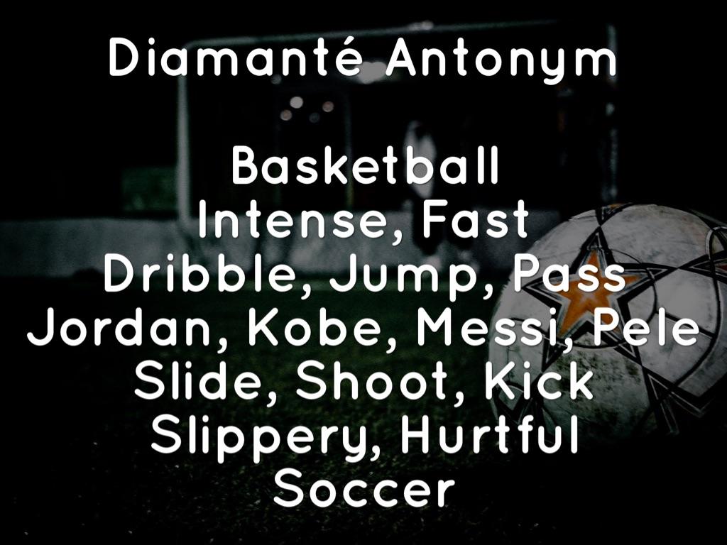 Basketball Acrostic Poems
