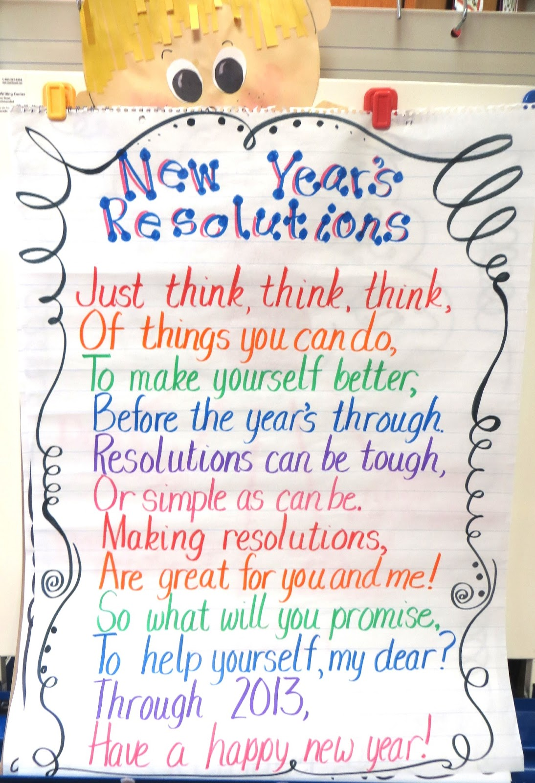 Resolution Poems