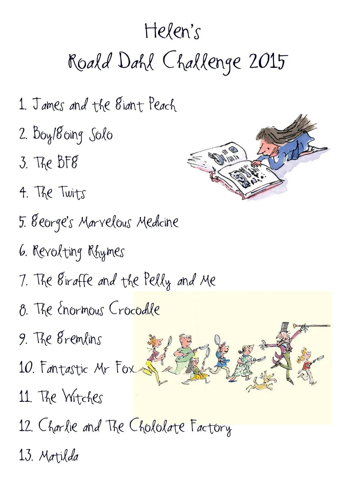 Roald Dahl Poems