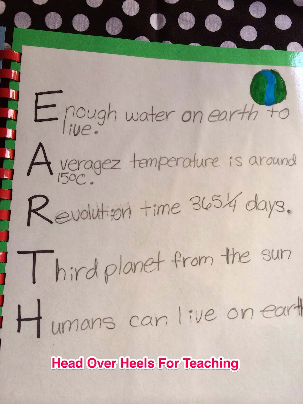 Earth Science Poems