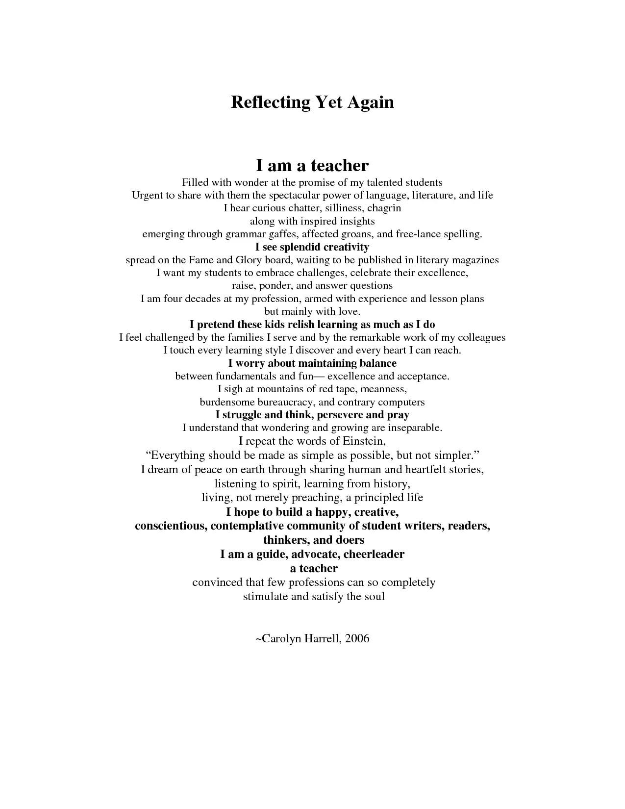 Examples Of Bio Poems