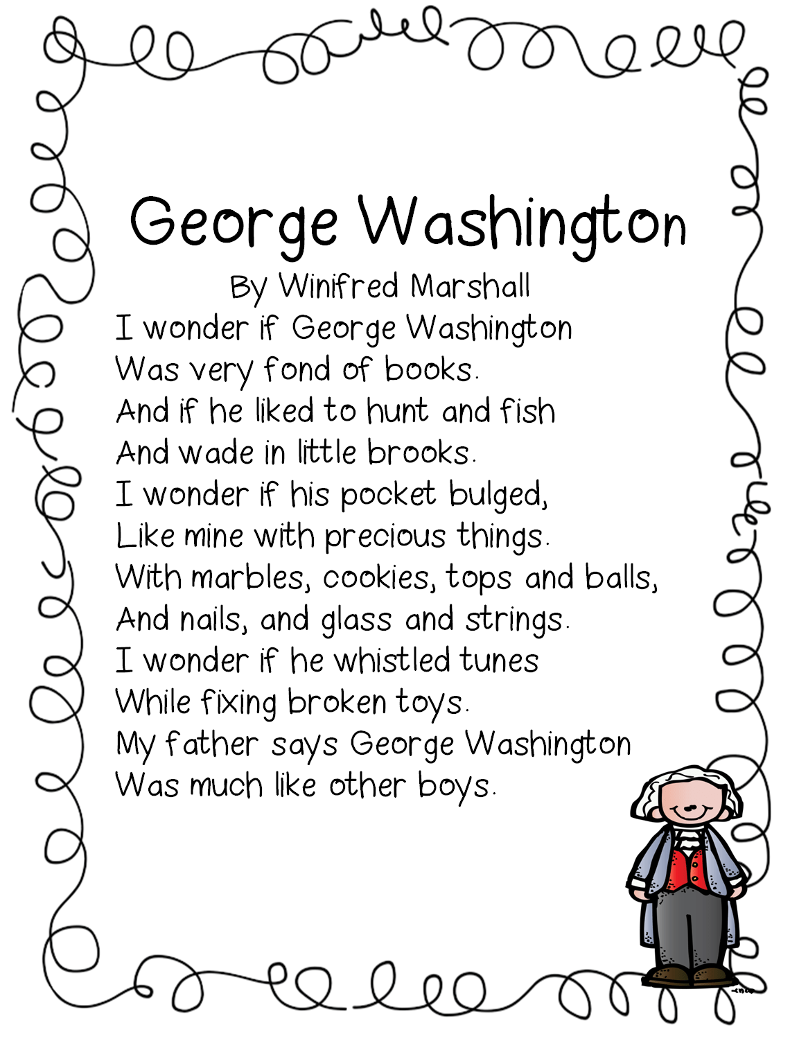 George Washington Poems