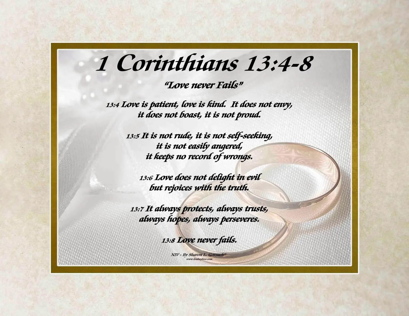 Biblical Wedding Poems