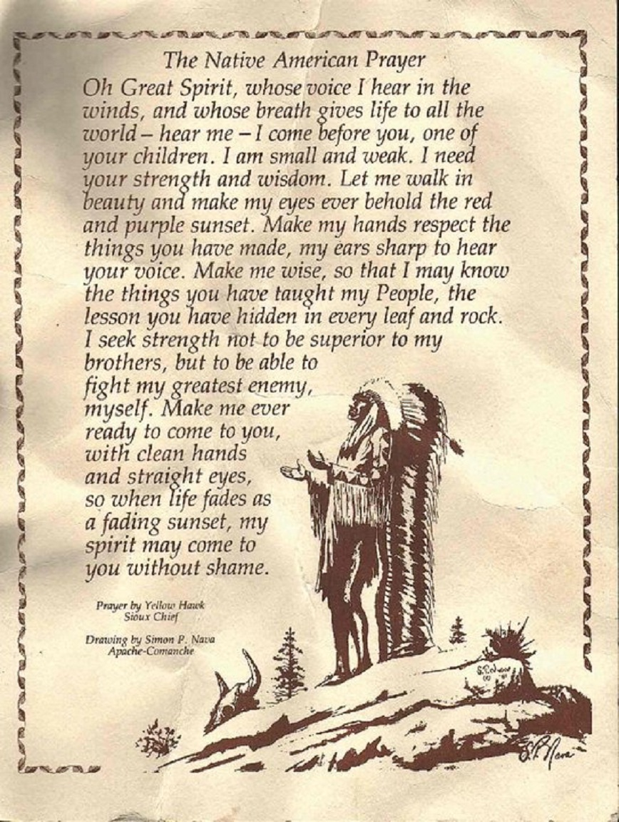 Cherokee Indian Quotes | Cherokee Indian Prayers And Poems Www Topsimages Com