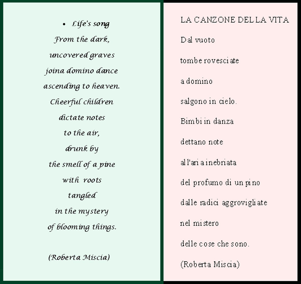 Italian Love Poems