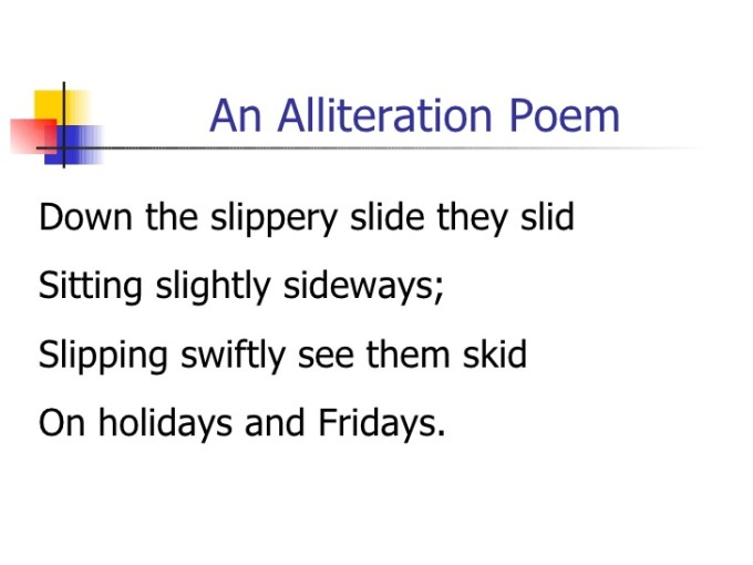 Alliteration Poem Examples For Students Poemview