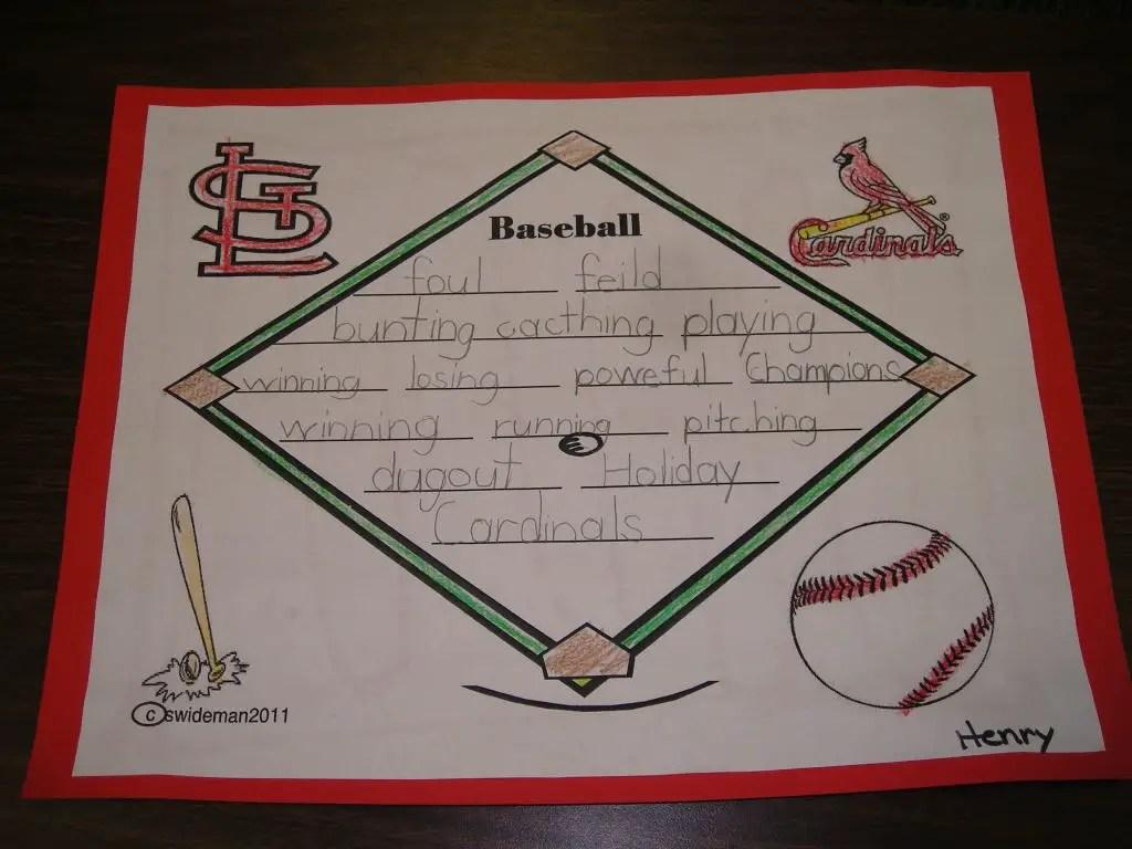 Short Baseball Poems