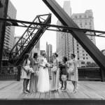 Kinzie Street Bridge Wedding Photos
