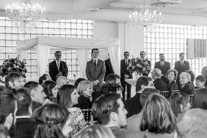 Chicago West Loop Wedding - Room 1520