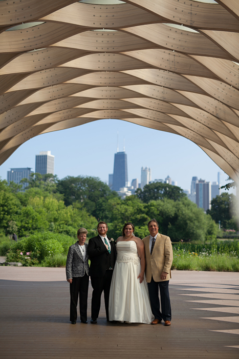 Lincoln Park Zoo Wedding Photos at the Hive