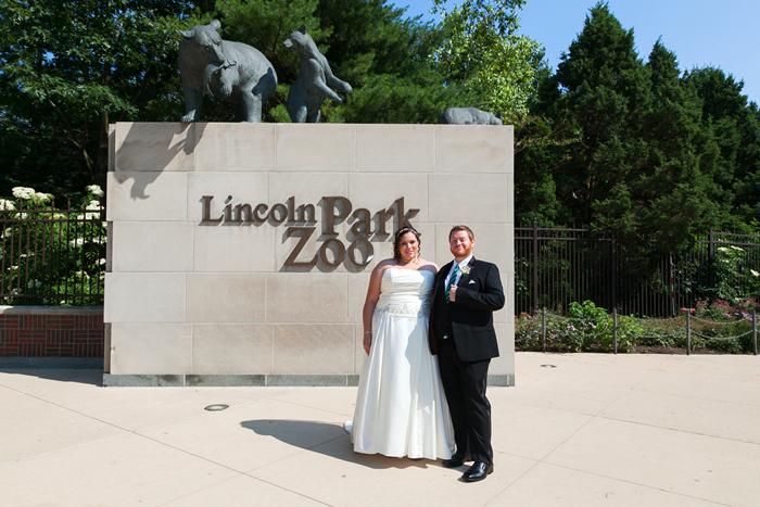 Lincoln Park Zoo Wedding Photos