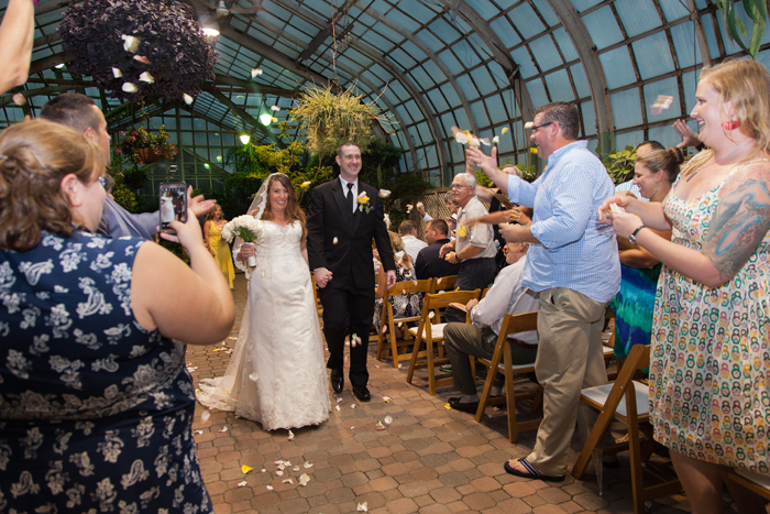 Lincoln Park Conservatory Wedding in Chicago