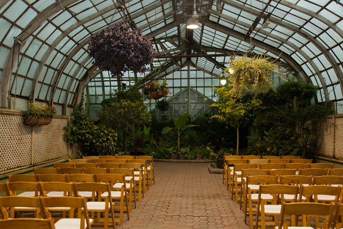 Lincoln Park Conservatory Wedding Chicago