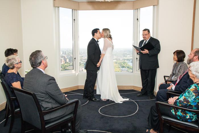 Wedding at Everest Restaurant
