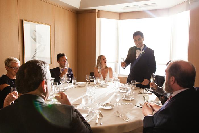 Wedding at Everest Restaurant in Chicago