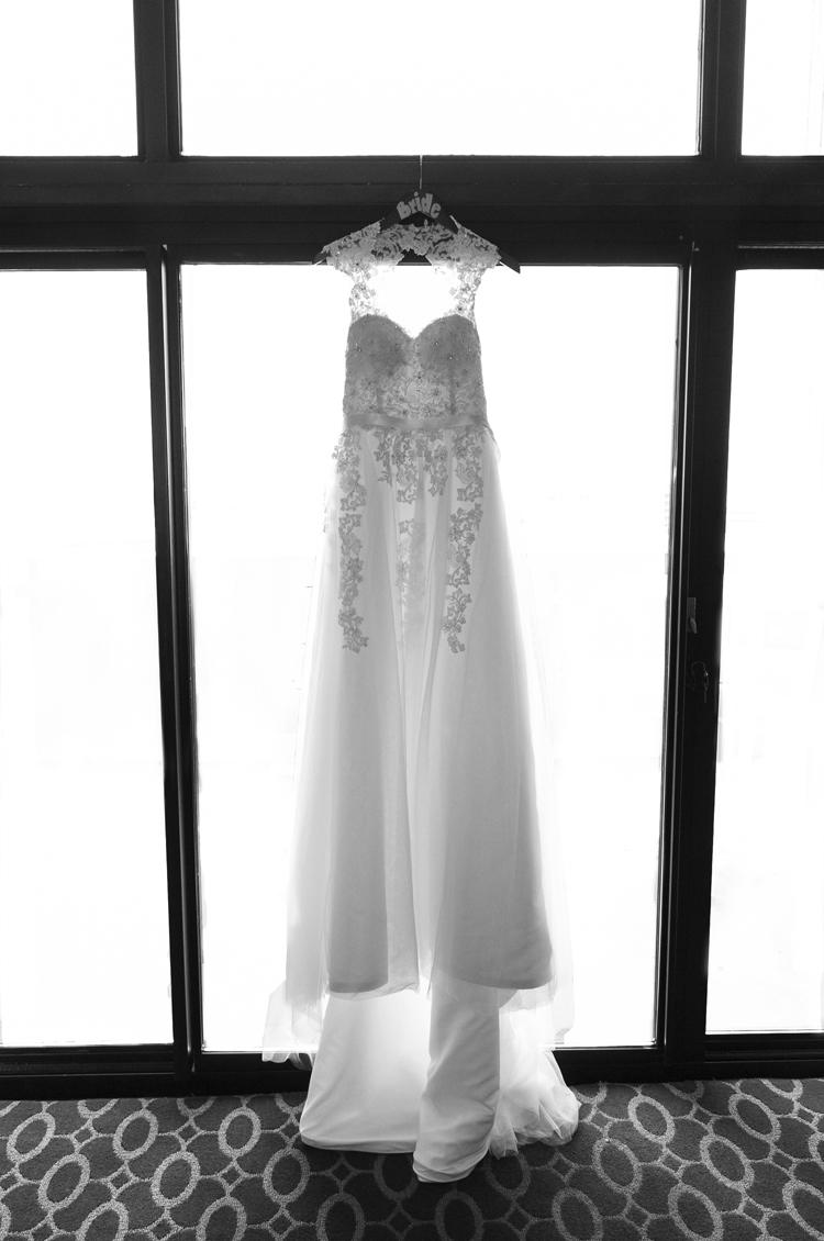 Hilton Chicago Wedding Dress Photo