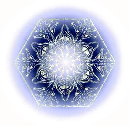 Barry Stevens - Indigo Snowflake