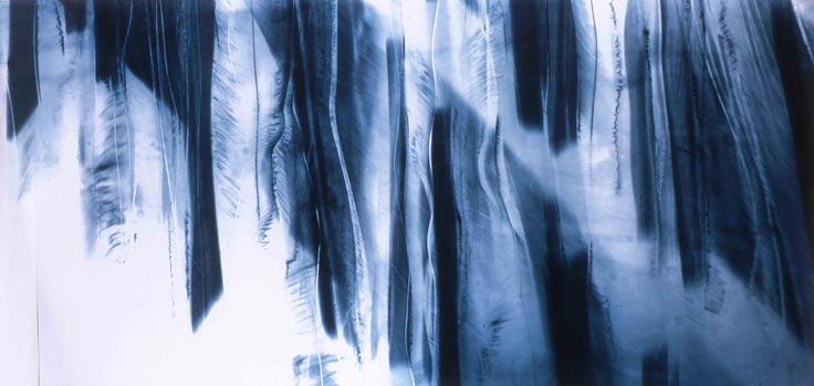 Katayoun Dowlatshahi - Drawing Fragments of Light I II & III