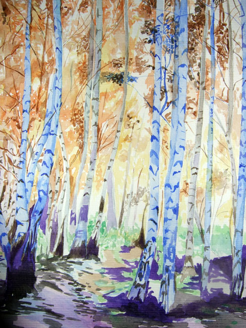 Melanie Chan - 'The Woods', 2008.