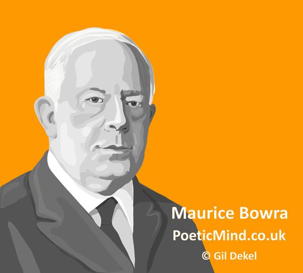 Maurice Bowra (image © Gil Dekel)