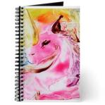 unicorn - encaustix wax art - journal